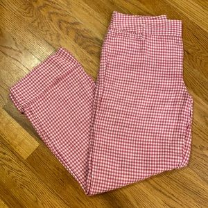 LOFT Cuffed Linen Pants
